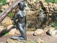 """Barbara"" 1954 Sculpture by Alonzo Hauser"
